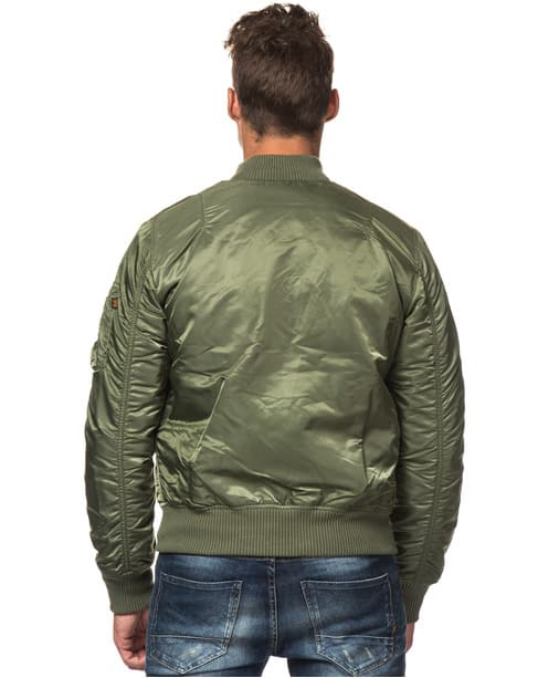 MA1 VF sage green back