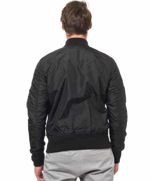 Alpha industries-MA 1 TT-Black back