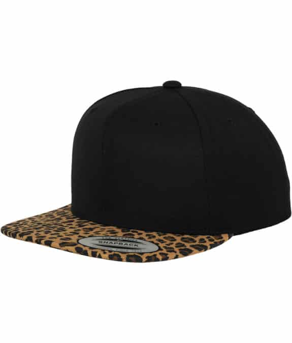 Animal Snapback black-leopard1