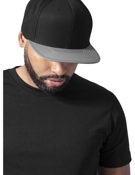 Reflective Visor Snapback black-grey