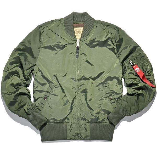 Alpha industries-MA 1 TT-sage-1
