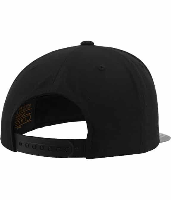 Reflective Visor Snapback black-grey2