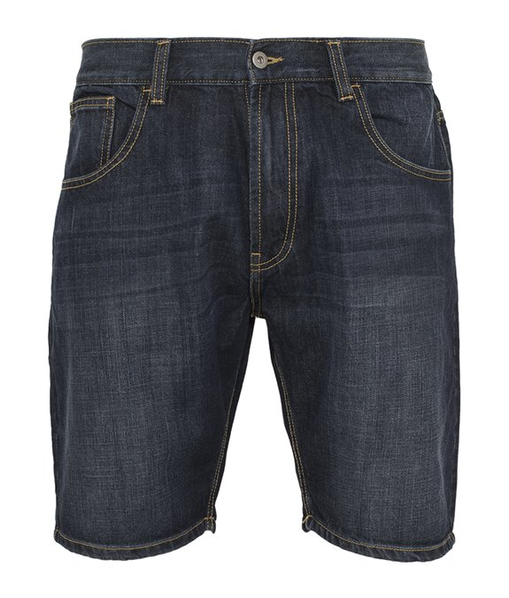 Casual Denim Shorts Blue Stoned 3