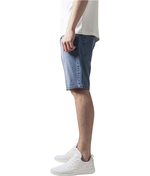 Casual Denim Shorts bleached 1