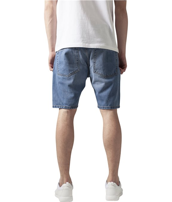 Casual Denim Shorts bleached 2