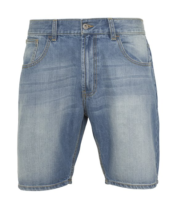 Casual Denim Shorts bleached 4