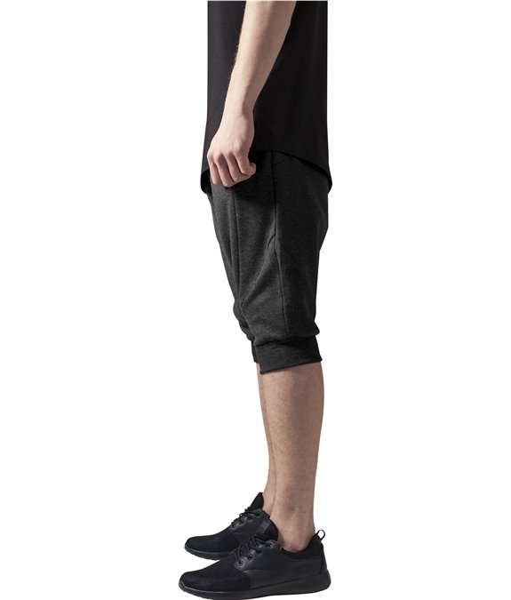 Urban Classics Deep Crotch Undefined Sweatshorts Charcoal 1