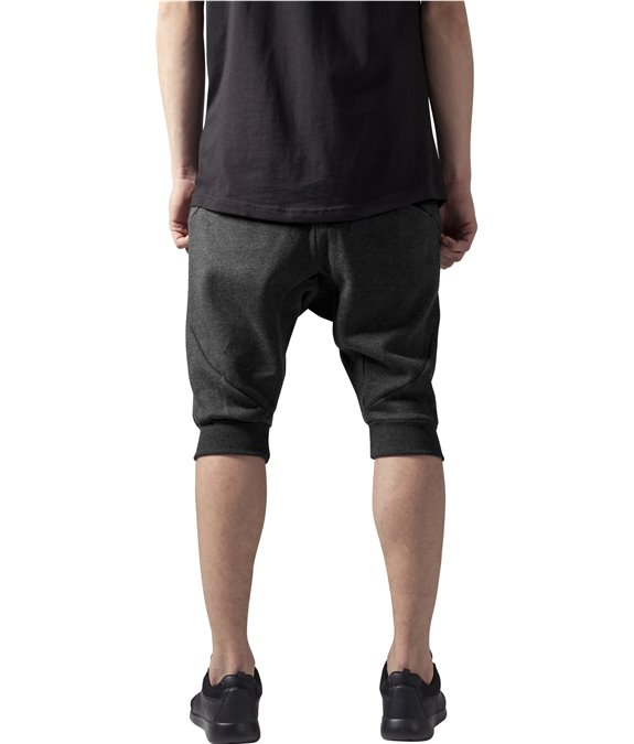 Urban Classics Deep Crotch Undefined Sweatshorts Charcoal 2