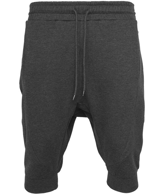 Urban Classics Deep Crotch Undefined Sweatshorts Charcoal 3